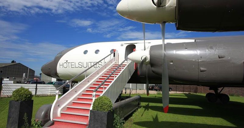 Airplane suite : h�tel unique en son genre
