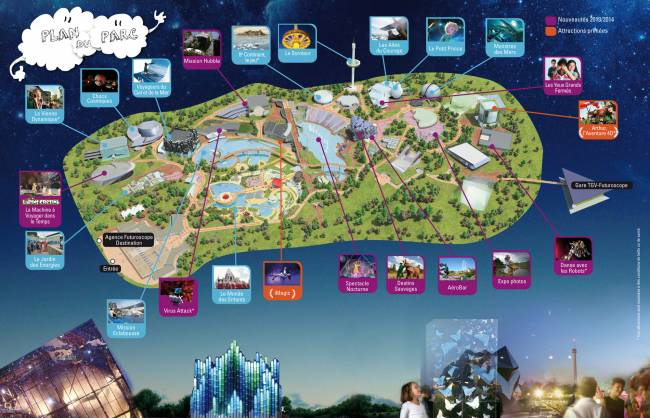 carte Futuroscope