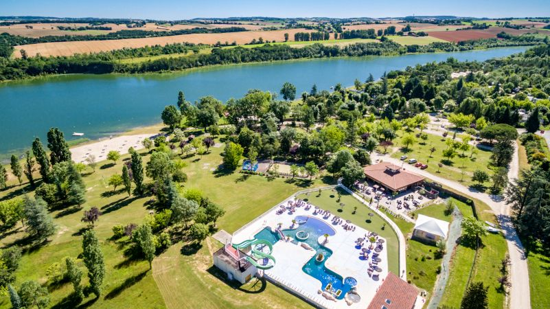 Camping Lac de Thoux St-cricq - photo 1