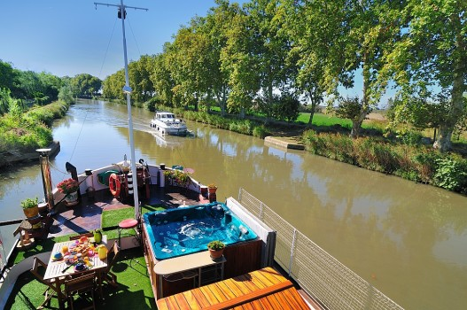 La Peniche Durandal B&B Canal du Midi - photo 2